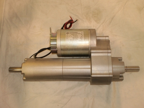 DC Gearmotors parallel axes with differential gear